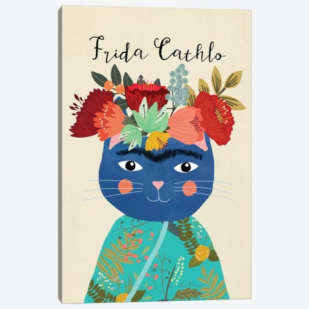 Frida Cathlo Canvas Print #MIO19} by Mia Charro Canvas Art