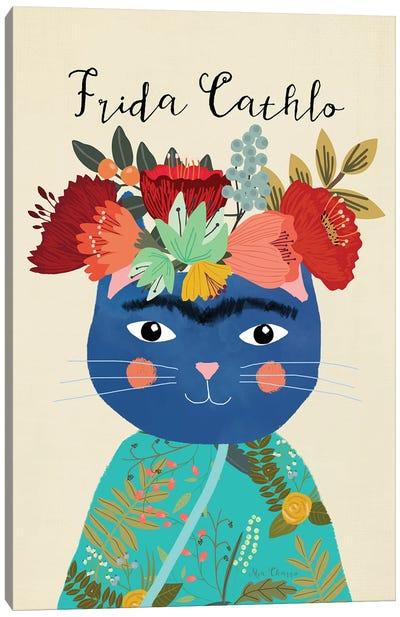 Frida Cathlo Canvas Art Print