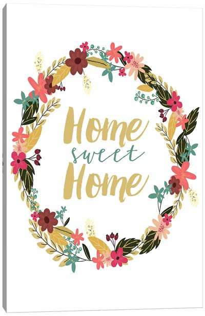 Home Sweet Home Canvas Art Print