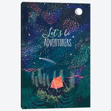 Let´s Be Adventurers I Canvas Print #MIO27} by Mia Charro Canvas Wall Art