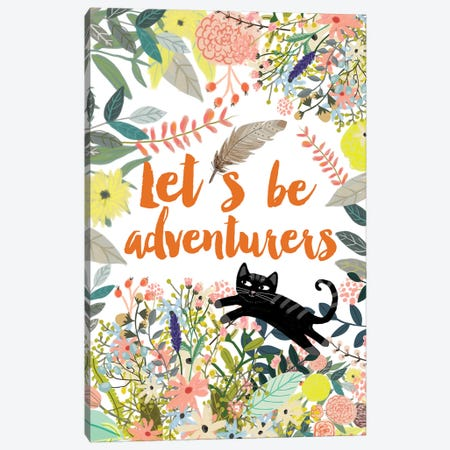 Let´s Be Adventurers II Canvas Print #MIO28} by Mia Charro Canvas Art Print