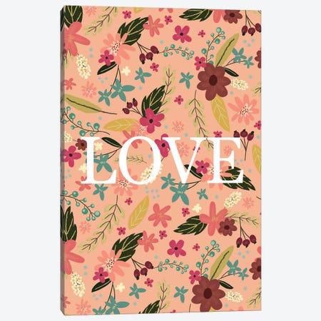 Love I Canvas Print #MIO31} by Mia Charro Canvas Wall Art
