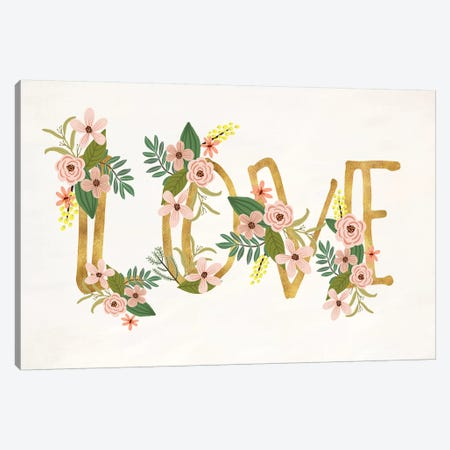 Love III Canvas Print #MIO33} by Mia Charro Canvas Artwork