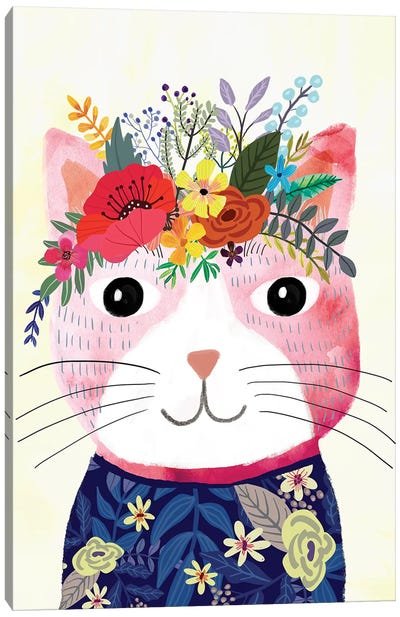 Mafi The Cat Canvas Art Print