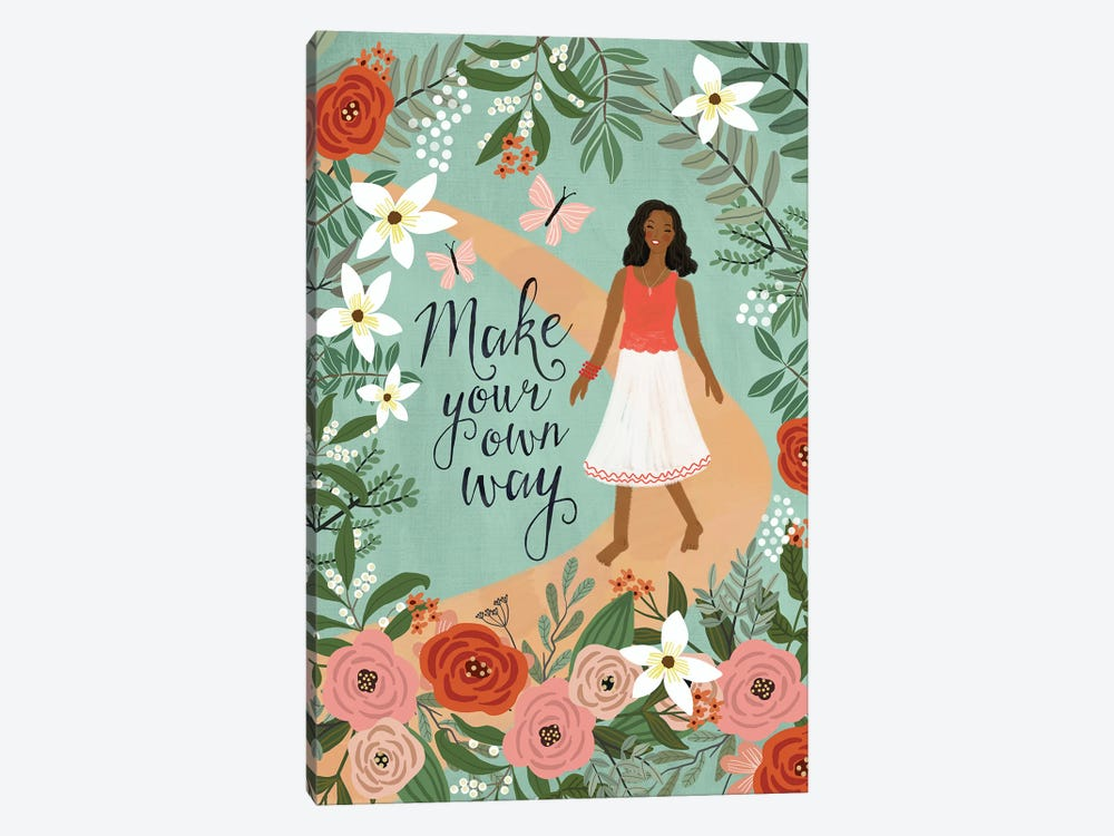 Make Your Own Way by Mia Charro 1-piece Canvas Print