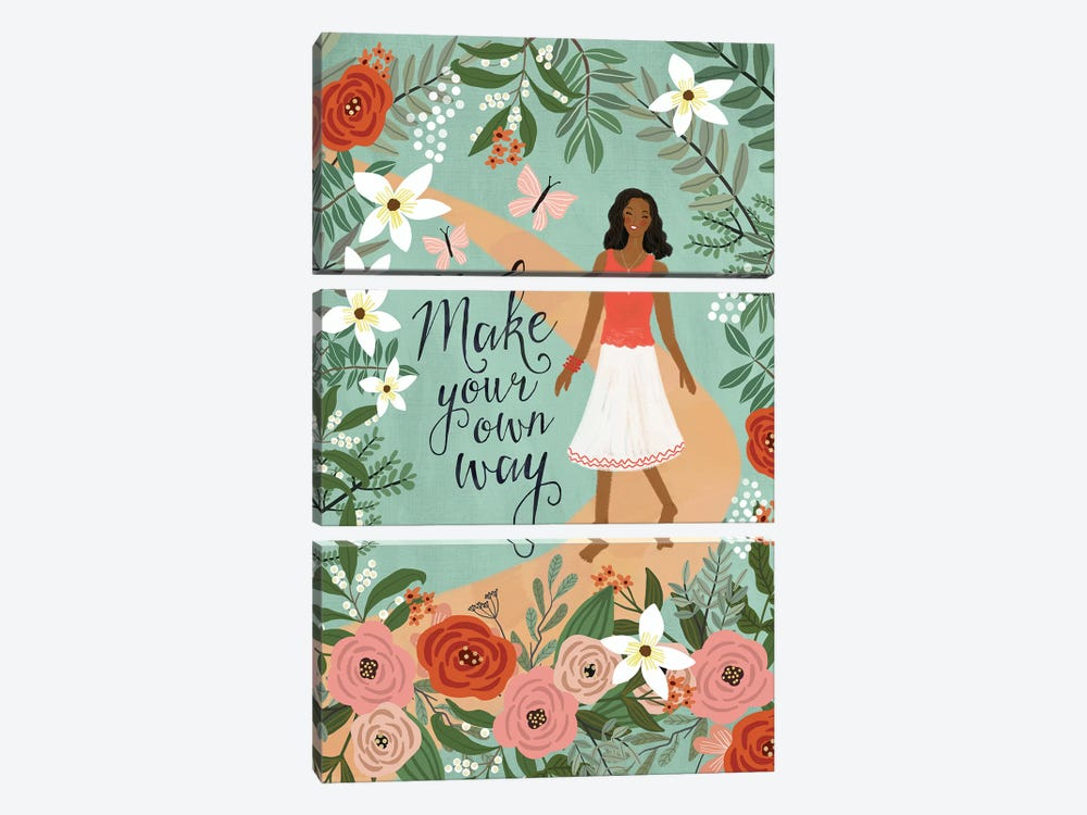 Make Your Own Way by Mia Charro 3-piece Art Print