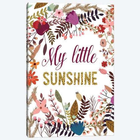 My Little Sunshine Canvas Print #MIO38} by Mia Charro Canvas Art