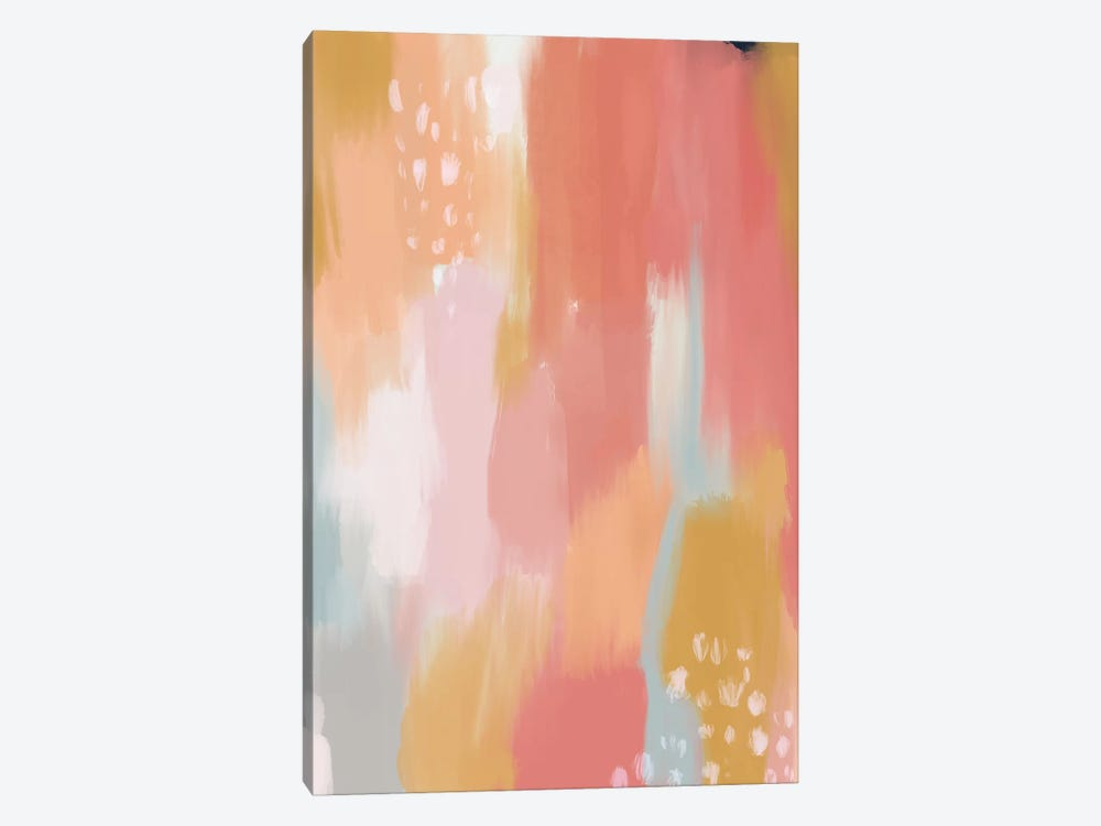 Pink Sky by Mia Charro 1-piece Canvas Art Print