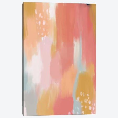 Pink Sky Canvas Print #MIO41} by Mia Charro Art Print
