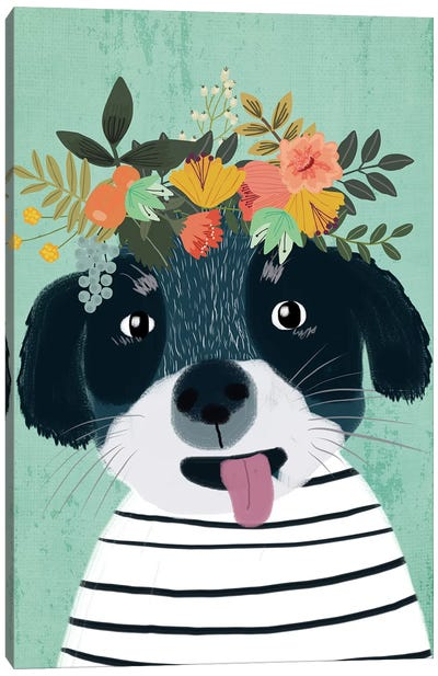 Puppy Canvas Art Print