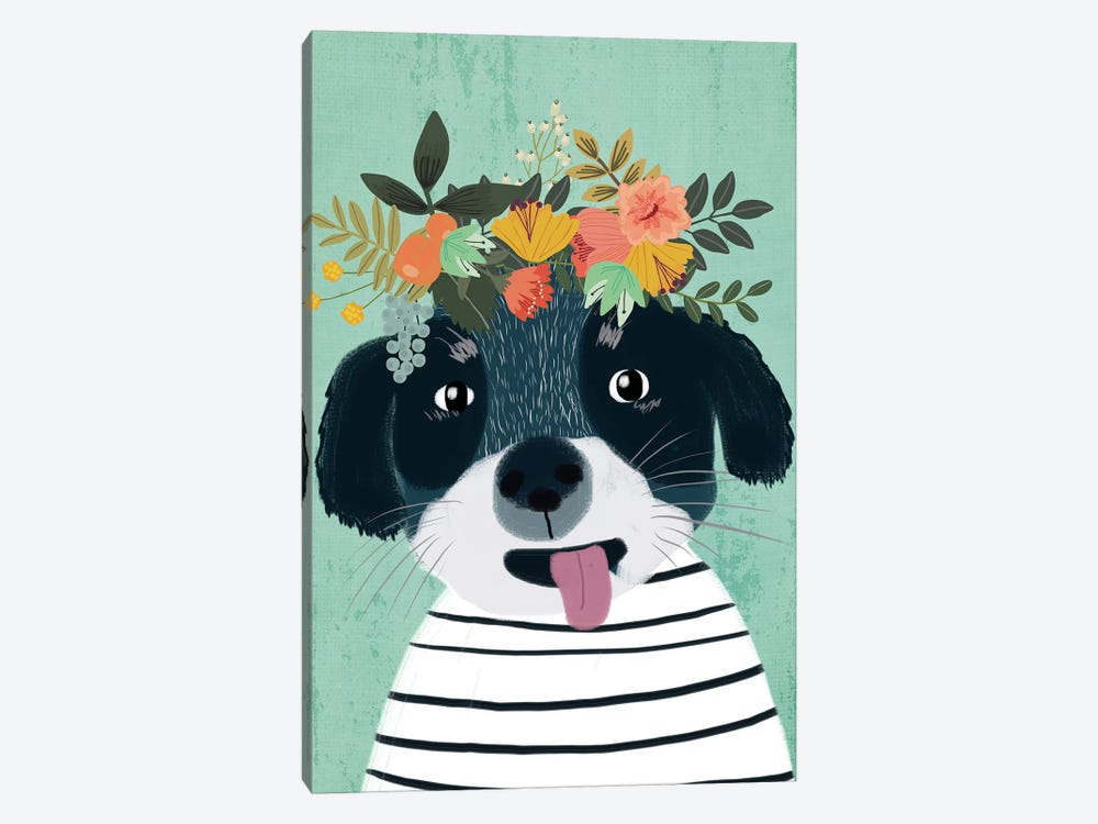 Puppy by Mia Charro 1-piece Canvas Art