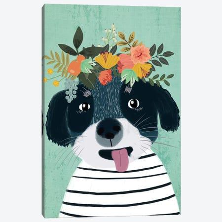 Puppy Canvas Print #MIO42} by Mia Charro Canvas Print