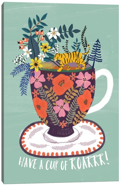 Tea Canvas Art Print