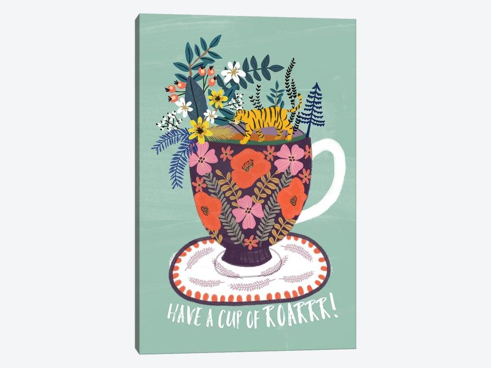 Tea by Mia Charro 1-piece Canvas Art Print