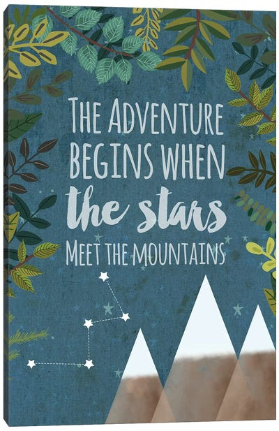 The Adventure Begins Canvas Art Print