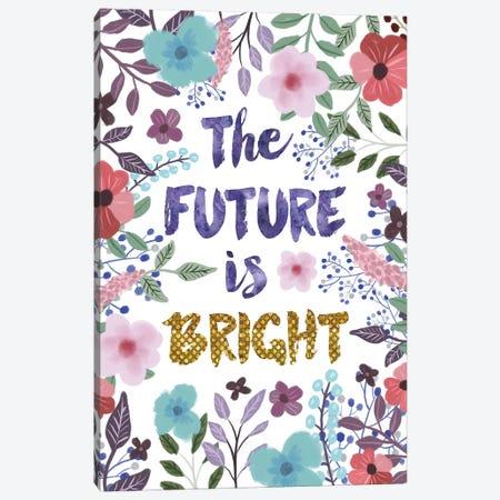 The Future Is Bright Canvas Print #MIO48} by Mia Charro Canvas Art Print