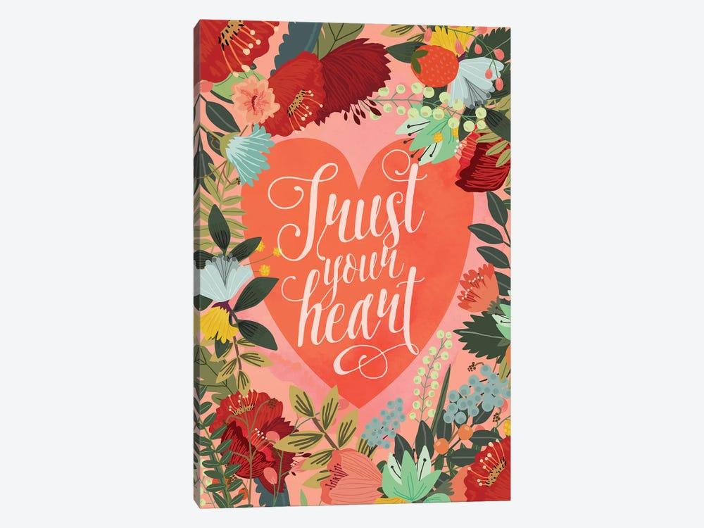 Trust Your Heart by Mia Charro 1-piece Canvas Art Print