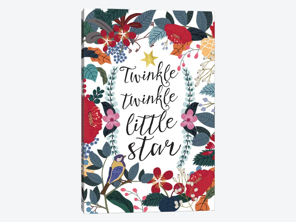 Twinkle Twinkle by Mia Charro 1-piece Canvas Art