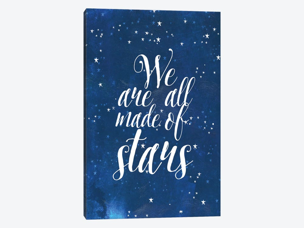 We Are All Made Of Stars by Mia Charro 1-piece Canvas Art Print
