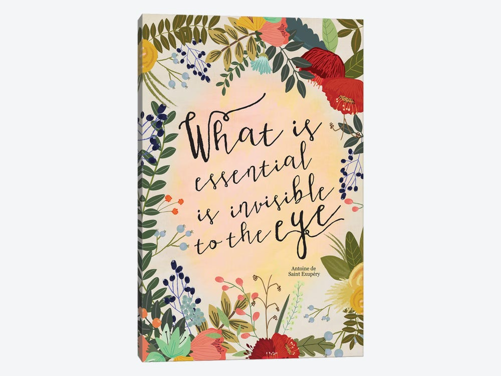 What Is Essential… by Mia Charro 1-piece Art Print
