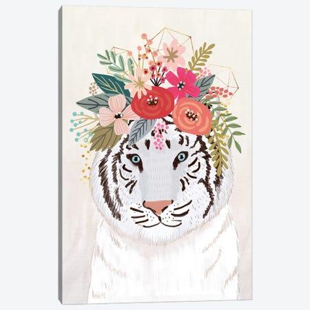 White Tiger Canvas Print #MIO56} by Mia Charro Canvas Print