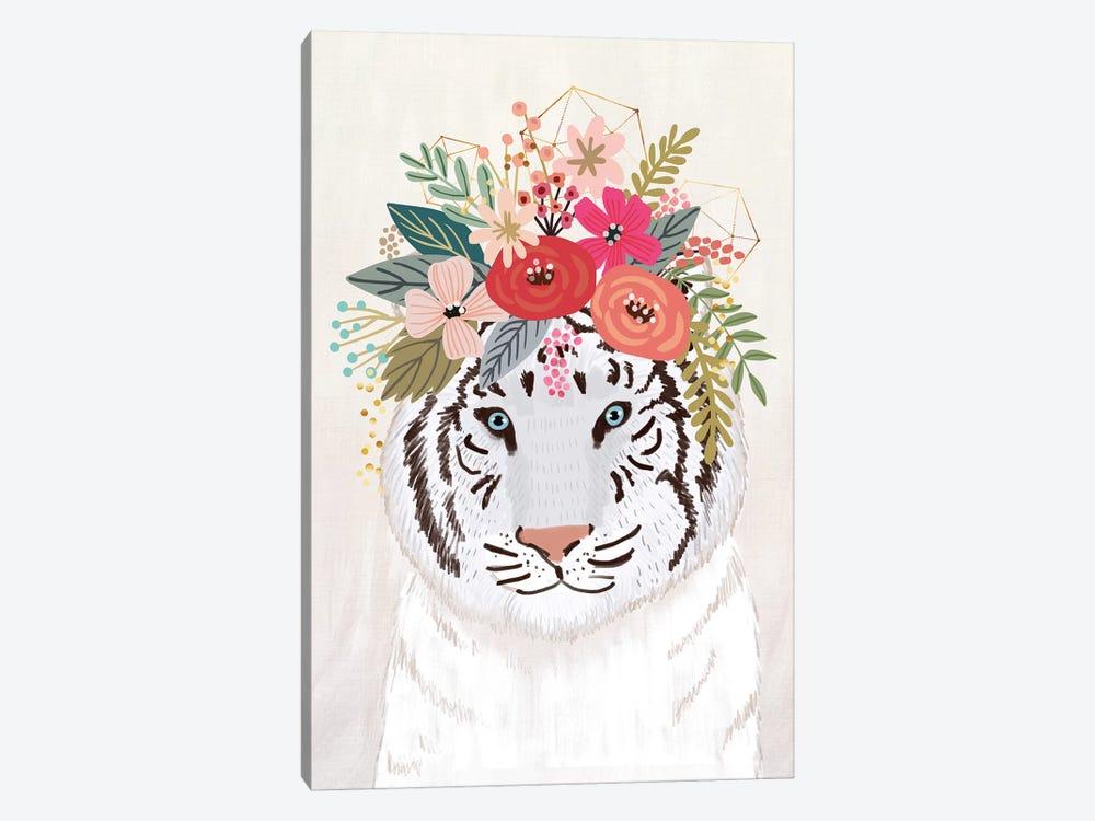 White Tiger by Mia Charro 1-piece Canvas Print