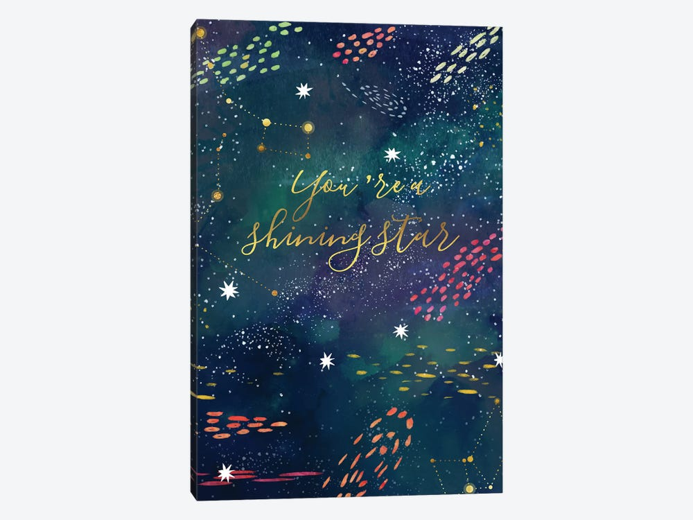 You Are A Shining Star by Mia Charro 1-piece Canvas Artwork