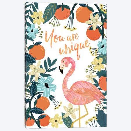 You Are Unique Canvas Print #MIO65} by Mia Charro Canvas Wall Art