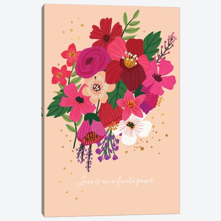 Bouquet II Canvas Print #MIO6} by Mia Charro Canvas Print