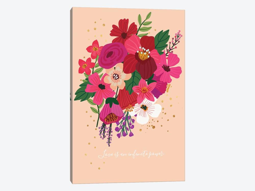 Bouquet II by Mia Charro 1-piece Canvas Print