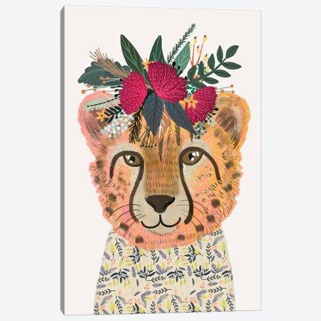 Cheetah Canvas Print #MIO70} by Mia Charro Canvas Art