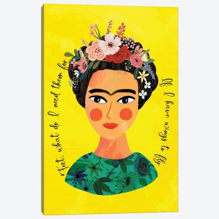 Frida Canvas Print #MIO74} by Mia Charro Canvas Art Print