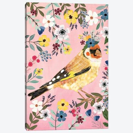 Goldfinch 3-Piece Canvas #MIO77} by Mia Charro Art Print