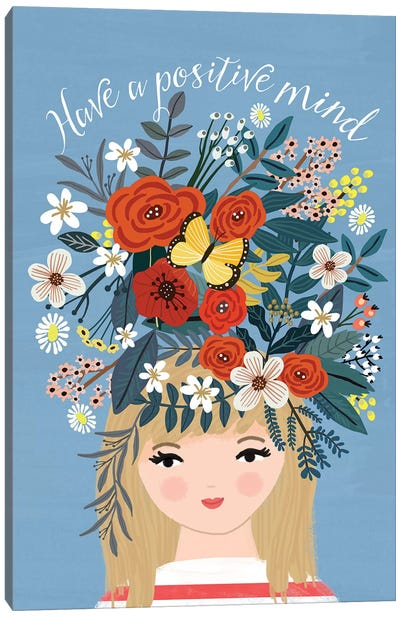 Happy Thoughts Canvas Art Print