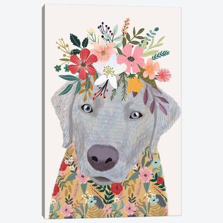Labrador Canvas Print #MIO82} by Mia Charro Art Print