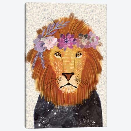 Lion Canvas Print #MIO83} by Mia Charro Canvas Print