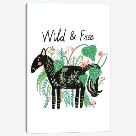Wildandfree Canvas Print #MIO96} by Mia Charro Canvas Print