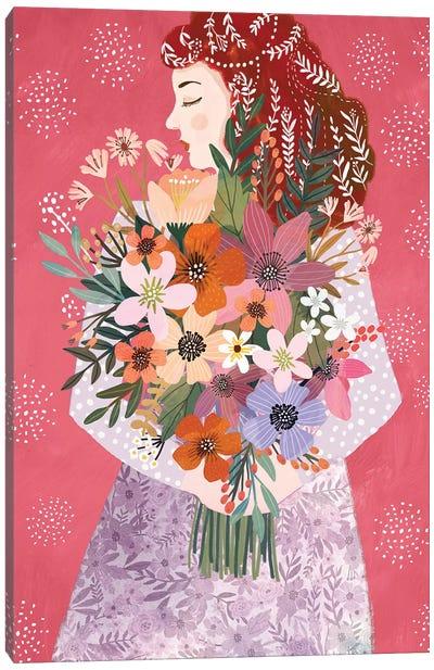 Winterbloom Canvas Art Print