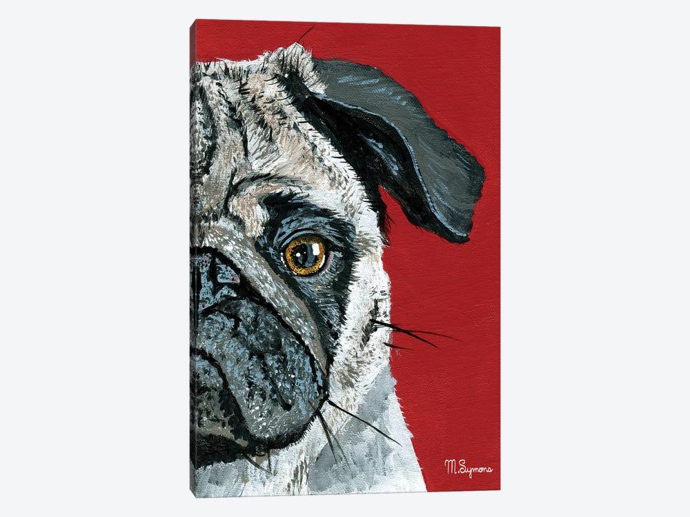 Pug a Boo by Melissa Symons 1-piece Canvas Art