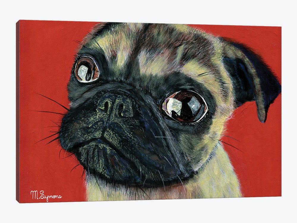 Pugly by Melissa Symons 1-piece Art Print