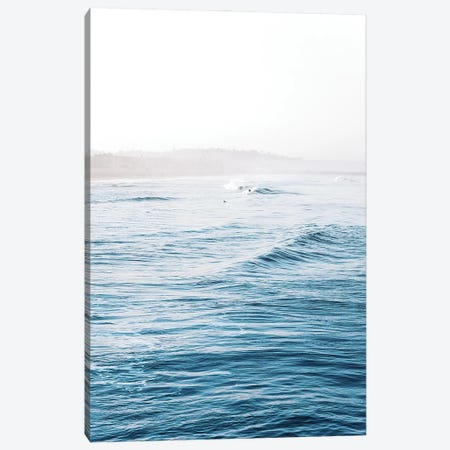 Blue Wave Canvas Print #MIZ102} by Magda Izzard Canvas Artwork