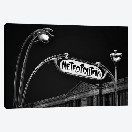 Metropolitain Canvas Print #MIZ140} by Magda Izzard Canvas Art