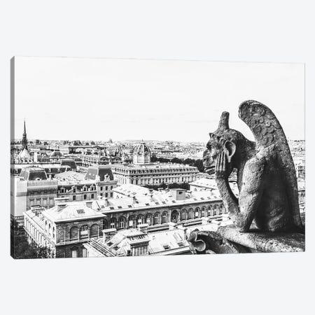 Notre Dame I Canvas Print #MIZ143} by Magda Izzard Canvas Wall Art