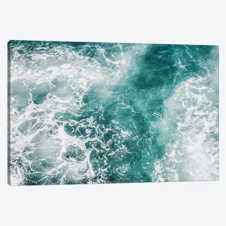Wave Crush III Canvas Print #MIZ153} by Magda Izzard Canvas Print
