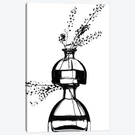 Bottles Canvas Print #MIZ16} by Magda Izzard Canvas Wall Art