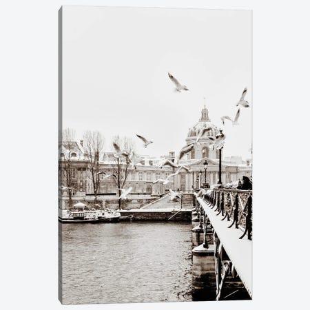 Streets Of Paris III Canvas Print #MIZ170} by Magda Izzard Canvas Print
