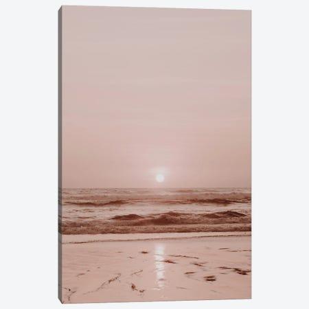 Pink Sunrise Canvas Print #MIZ191} by Magda Izzard Canvas Print