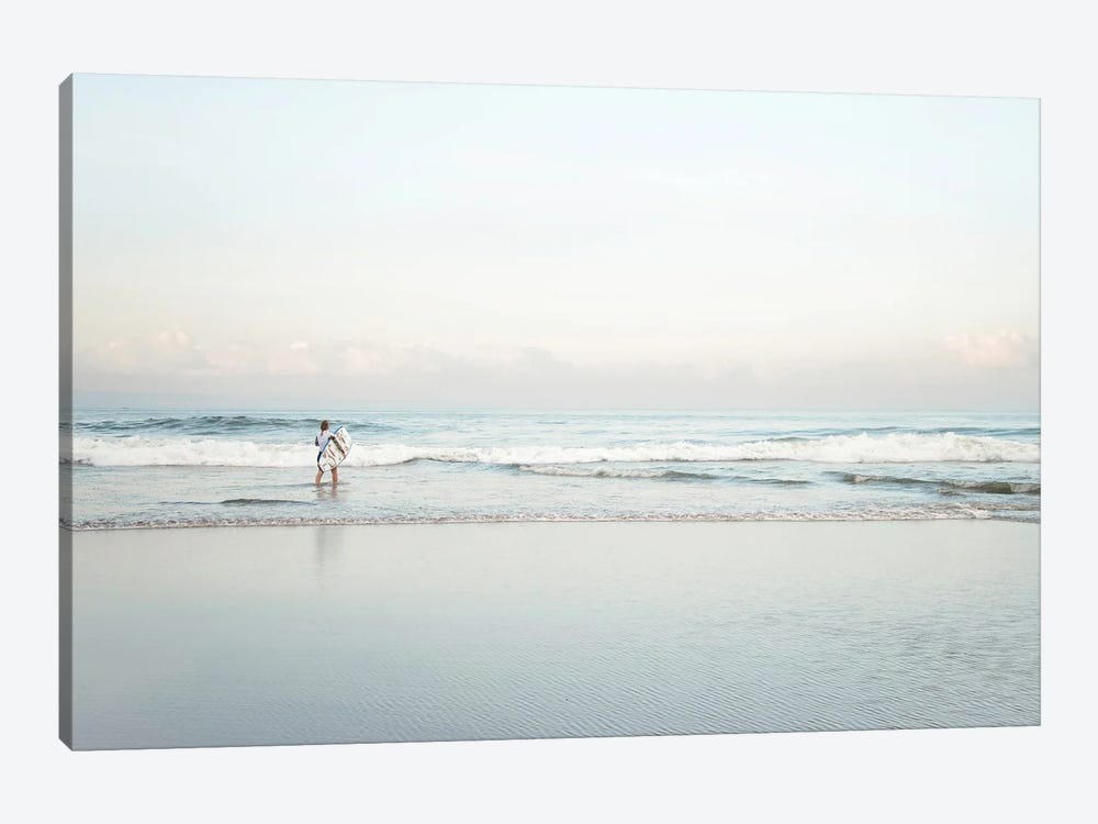 Surfing In Bali by Magda Izzard 1-piece Canvas Art Print