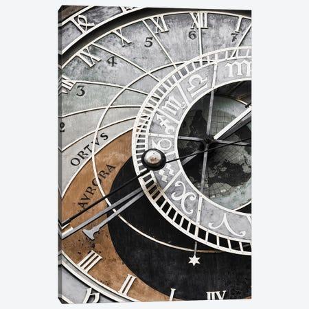 Clock Canvas Print #MIZ28} by Magda Izzard Canvas Wall Art
