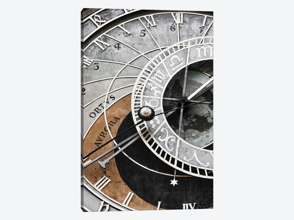Clock by Magda Izzard 1-piece Canvas Art Print